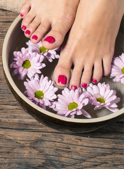 Obtenir des pieds doux