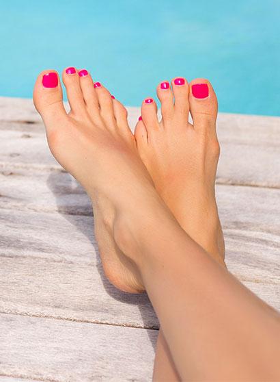 Prendre soin de mes ongles de pieds