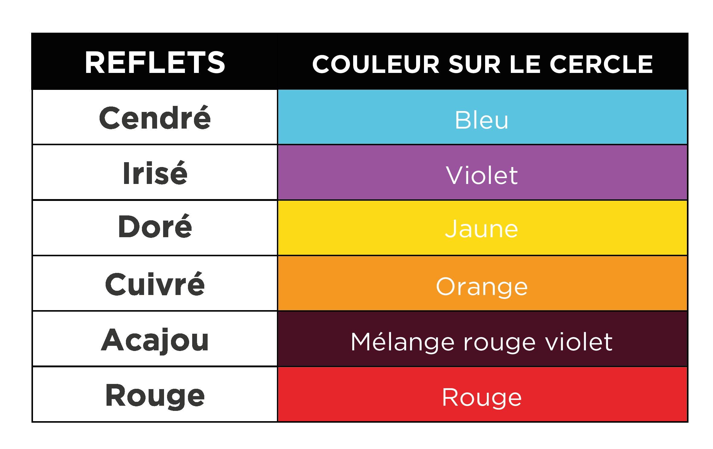 Bleu Libellule La Colorimetrie Base Fondamentale De La Coiffure