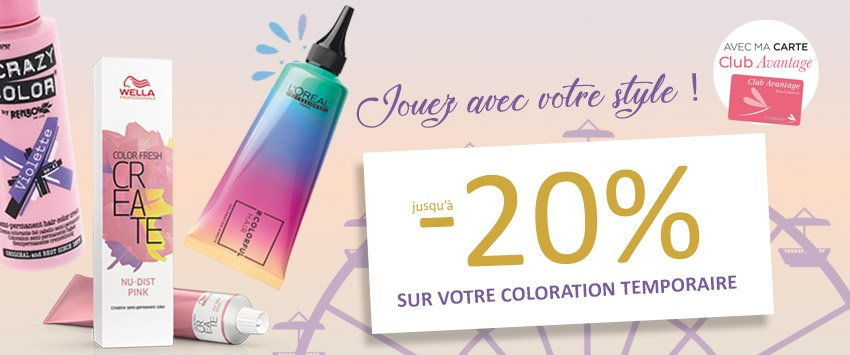 HP bloc promo 2/3 - OP coloration fugace