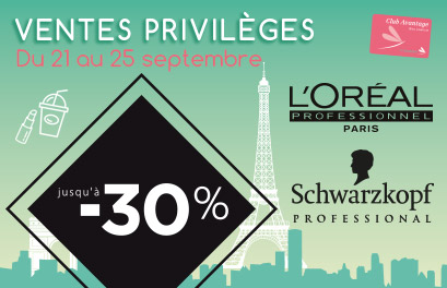 Promo bloc paysage - Ventes privilèges Hello September