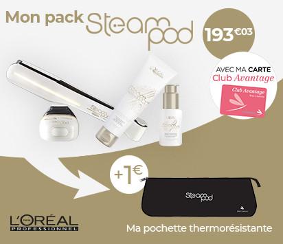 Bloc HP promo 1/3 - Mon pack steampod avec pochette