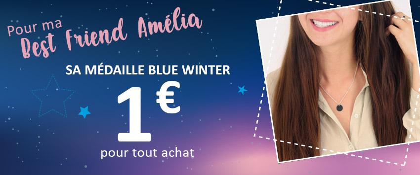 Bloc HP promo 2/3 - Blue Winter - Médaillon de fin d'année