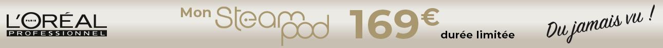 Catégorie barre Horizontale - Soldes - Steampod à 169€ - Toutes