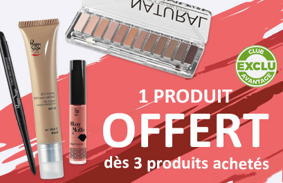 Bloc Promo page promo - Make-up - Particuliers