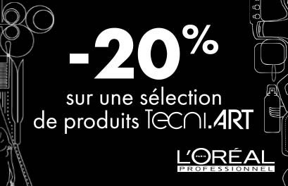 Bloc Promo page promo - -20% TECNI.ART - Particuliers