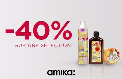 Bloc Promo page promo - Déstockage - -40% Amika  - Toutes (paysage)