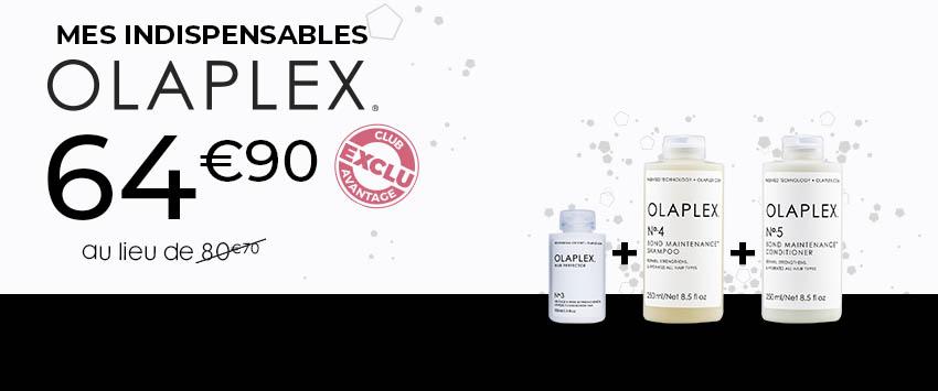 Bloc HP promo 2/3 - Olaplex routine - Particuliers