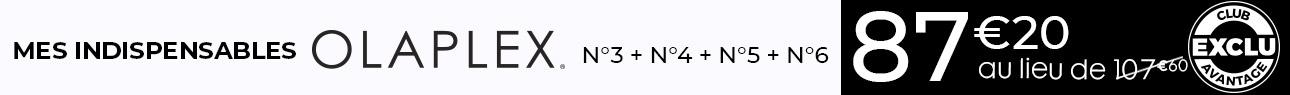 Catégorie barre Horizontale - Olaplex routine 6 - Particuliers
