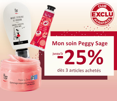 Bloc promo HP 2/3 - Soins Peggy Sage - Ciao Bella