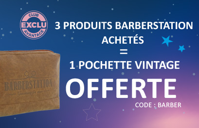 Bloc Promo page promo - Blue Winter - BarberStation - Particuliers & Semi-Pros