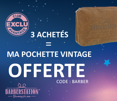 Bloc HP promo 2/3 - Blue Winter - BarberStation - Particuliers & Semi-Pros