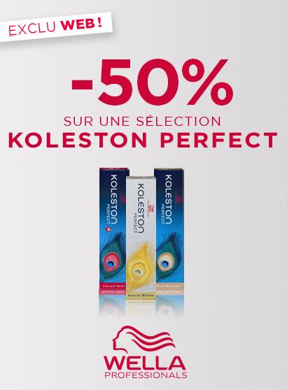Promo Bloc page promo - BAU - Koleston -40% - Toutes