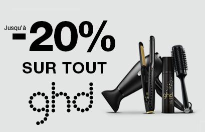 Bloc Promo page promo - Soldes - -20% GHD - Toutes