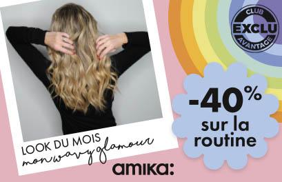 Bloc Promo page promo - Inspiration du mois - Amika - Particuliers