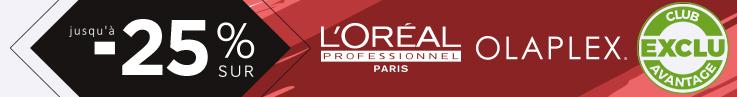 Catégorie barre Horizontale - Ventes Privilèges - L'Oréal & Olaplex - Particuliers