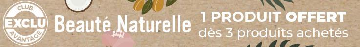 Catégorie barre horizontale - Beauté Naturelle & Offre - Particuliers