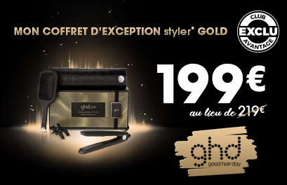 Bloc Promo page promo - OP COFFRETS GHD - Particuliers