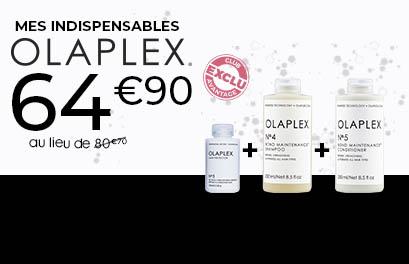 Bloc Promo page promo - Olaplex routine - Particuliers