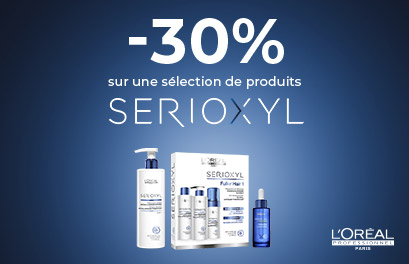Bloc Promo page promo - -30% Serioxyl - Particuliers