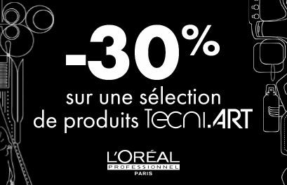 Bloc Promo page promo - -30% TECNI.ART - Particuliers
