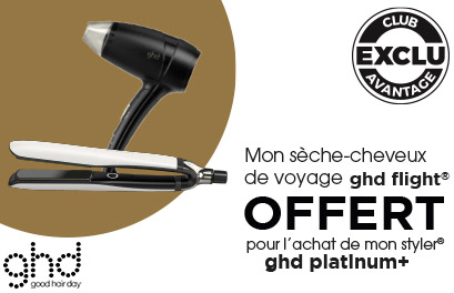 Bloc Promo page promo - Offre ghd Flight - Particuliers
