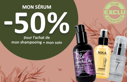 Bloc Promo page promo - OPSerum - Particuliers