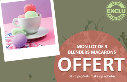Bloc Promo page promo - OPmakeup - Particuliers