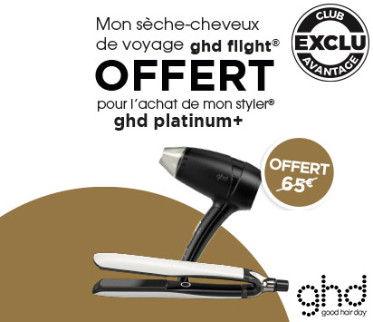 Bloc Promo page promo - ghdFlight - Particuliers