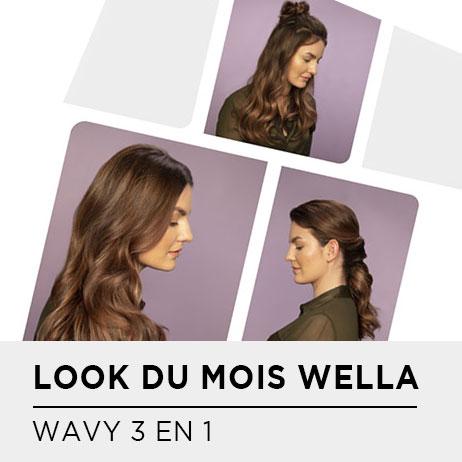 LOOK DU MOIS WELLA : MON WAVY 3 EN 1