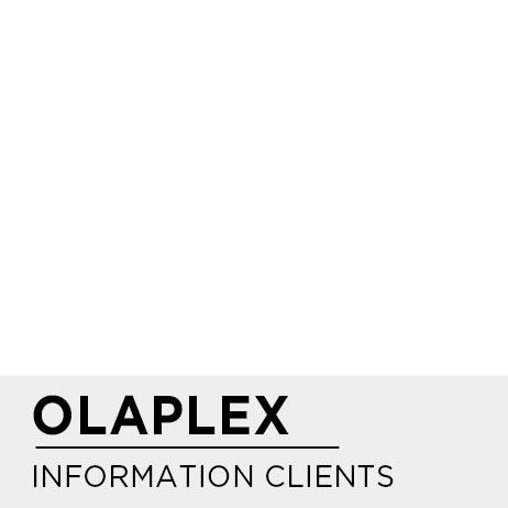 OLAPLEX INFORMATION CLIENTS