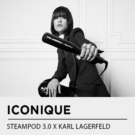 LE STEAMPOD 3.0 EN EDITION LIMITÉE KARL LAGERFELD, L'EXCLUSIVITÉ LA PLUS ATTENDUE