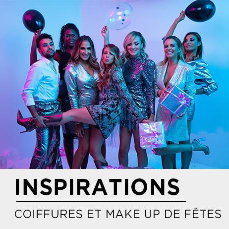 INSPIRATIONS COIFFURES ET MAKE UP DE FÊTES