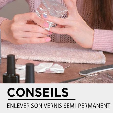 COMMENT ENLEVER DU VERNIS SEMI PERMANENT ?